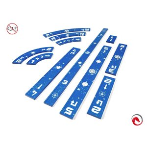 E-Raptor SWX Rulers Blue Set