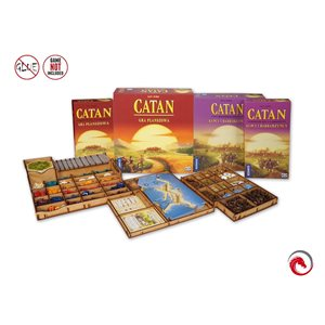 E-Raptor Insert Catan (with Traders & Barbarians / 5-6 players Exp)
