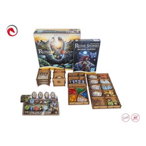 E-Raptor Insert Runes Stones (with Nocturnal Creatures Exp and 4x organizer)