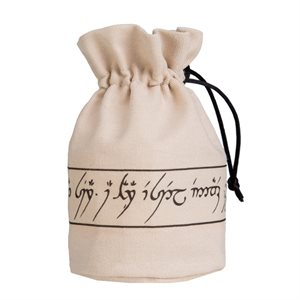 Elvish Dice Bag Beige / Black