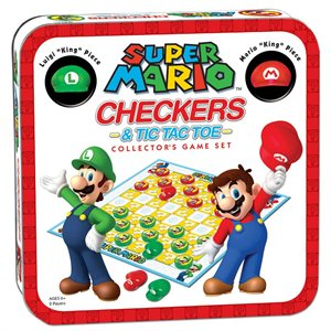 Super Mario™ Checkers & Tic Tac Toe (No Amazon Sales)