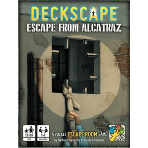 Deckscape: Escape from Alcatraz (No Amazon Sales)