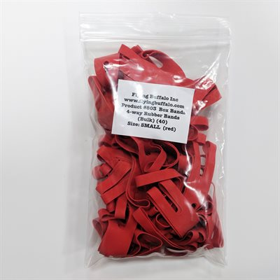"""Board Game Box Rubber Bands 4"""" (40 pk)"""