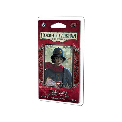 Horreur A Arkham JCE: Stella Clark Deck Investigateur