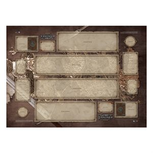 Game of Thrones: Playmat: Westeros Two-Player
