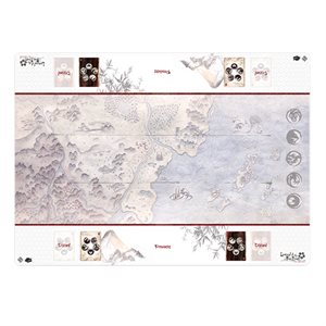 Legend of the Five Rings: Playmat: Honored Duel Two-Player