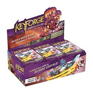 Keyforge: Worlds Collide: Deck Display