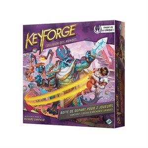 Keyforge: Collision Des Mondes: Starter 2 Joueurs (FR)