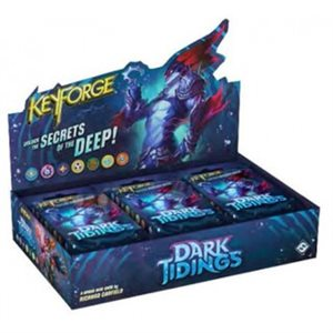 Keyforge: Dark Tidings Archon Deck Display ^ MAR 12 2021