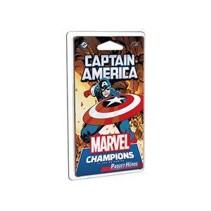 Marvel Champions: Le Jeu De Cartes: Captain America (FR)