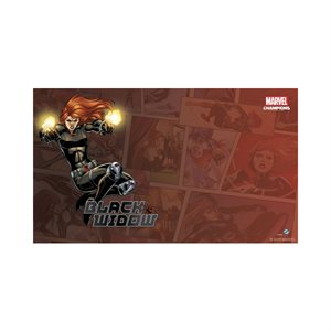 Marvel Champions LCG: Playmat: Black Widow