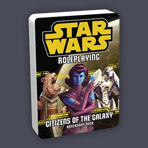 Star Wars Roleplaying Game: Citizens Of The Galaxy Deck