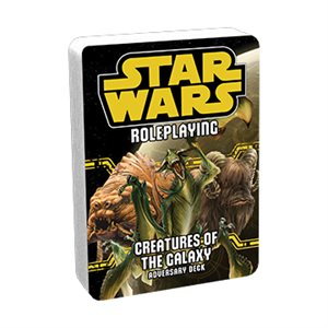 Star Wars Roleplaying Game: Creatures of the Galaxy Adversary Deck