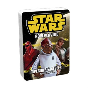 Star Wars Roleplaying Game: Imperials & Rebels II Adversary Deck