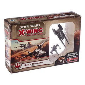 X-Wing 2nd Ed: Saw'S Renegades