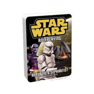 Star Wars RPG: Republic & Separatist Deck