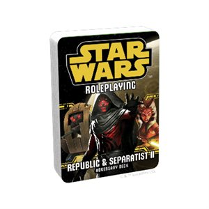 Star Wars RPG: Republic & Separatist II Adversary Deck