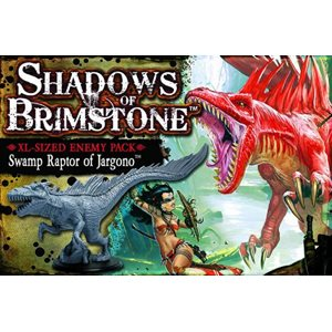 Shadows of Brimstone: Enemy Pack XL - Swamp Raptor of Jargono