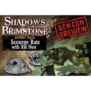 Shadows of Brimstone: Enemy Pack - Scourge Rats