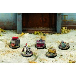 Fallout: Wasteland Warfare: Terrain and Objective Markers