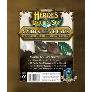 Heroes of Land Air and Sea Comprehensive Sleeve Pack (no amazon sales)