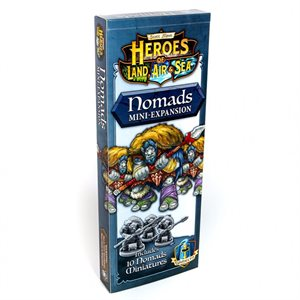 Heroes of Land Air and Sea - Expansion Nomads (no amazon sales)