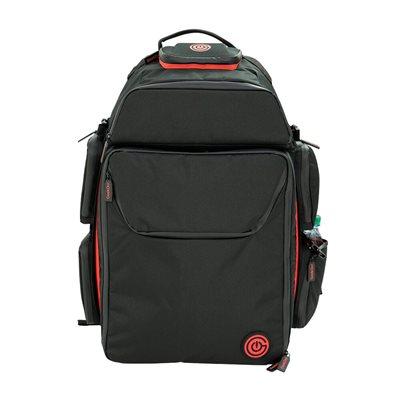 Geekon Backpack: Black and Red