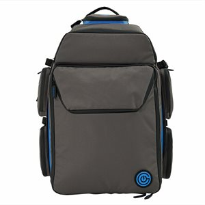Geekon Backpack: Grey and Royal Blue