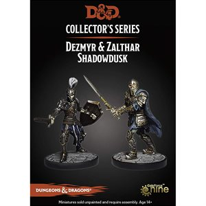 Dungeons & Dragons: Dungeon of Mad Mage Mini - Zalthar & Dezmyr Shadowdusk