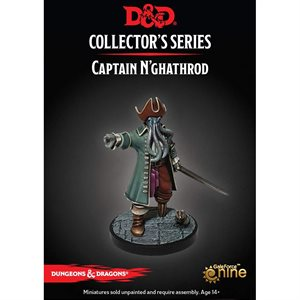 Dungeons & Dragons: Dungeon of Mad Mage Mini - Captain N'ghathrod