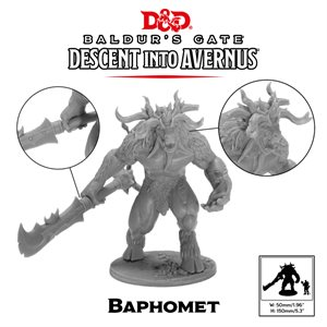 Dungeons & Dragons: Baldurs Gate: Descent Into Avernus Mini -Baphomet ^ 2020