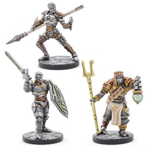 Dungeons & Dragons: Eberron Mini - Warforged (Cleric Fighter Monk) ^ 2020