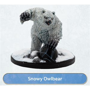 Dungeons & Dragons: Icewind Dale: Rime of the Frostmaiden Mini - Snowy Owlbear (1)