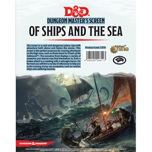 Dungeons & Dragons: Of Ships & Seas DM Screen