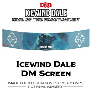 Dungeons & Dragons: Icewind Dale: Rime of the Frostmaiden DM Screen ^ SEP 19 2020