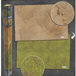 Playmat: Grassland / Desert 6' x 4' (Double Sided)