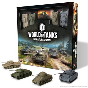 World of Tanks: Starter Set (Panzer IV H. M4A1 Sherman, T-34, Cromwell)