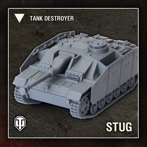 World of Tanks: Wave 1 Tank - German (StuG III G) - Tank Destroyer