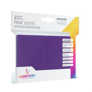 Sleeves: Gamegenic Prime Sleeves: Purple (100)