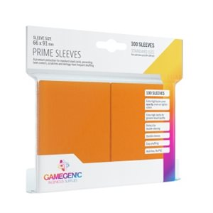 Sleeves: Gamegenic Prime Sleeves: Orange (100)
