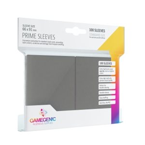 Sleeves: Gamegenic Prime Sleeves: Grey (100)