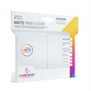 Sleeves: Gamegenic Matte Prime Sleeves: White (100)