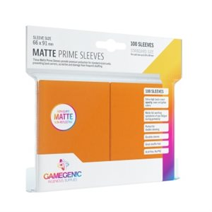 Sleeves: Gamegenic Matte Prime Sleeves: Orange (100)