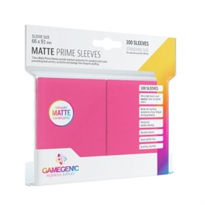 Sleeves: Gamegenic Matte Prime Sleeves: Pink (100)