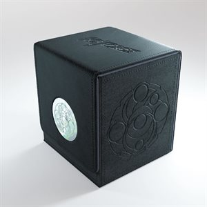 Deck Box: Keyforge Vault: Black (120ct)