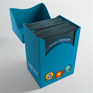 Deck Box: Keyforge Gemini: Blue (80ct)