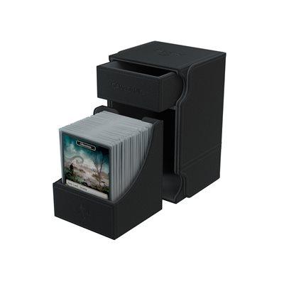 Deck Box: Watchtower Convertible Black (100ct)