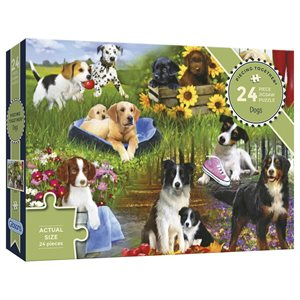 Puzzle: 24XL Dogs