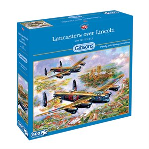 Puzzle: 500 Lancasters over Lincoln