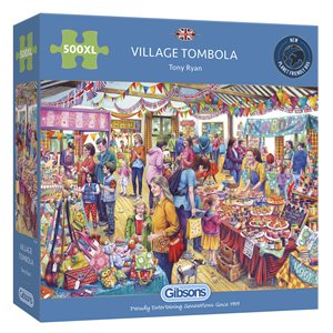 Puzzle: 500XL Village Tombola